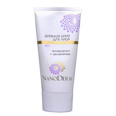 Дневной крем для лица с наносомами 45+ нанодерм (НаноДерм)