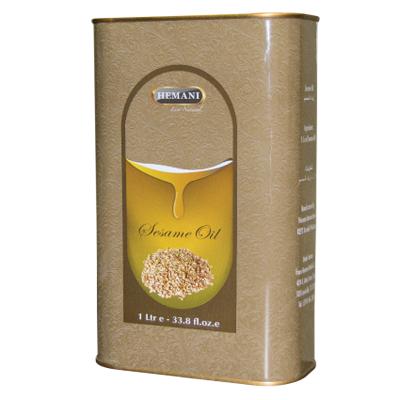 Натуральное масло кунжута 1000 мл хемани