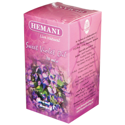 Масло сладкой фиалки 30 мл хемани (Хемани)