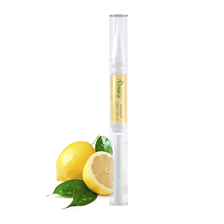 Масло для ухода за кутикулой и ногтями с ароматом лимона cuticle care stick almea