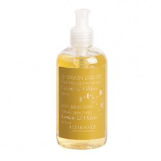 Жидкое мыло лимон и олива для всех типов кожи attirance