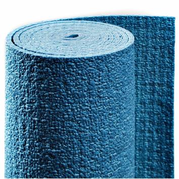 Yoga Коврик для йоги сита (синий, 185 см)