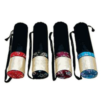 Чехол для йога-коврика гейша 70 см бордовый yoga (Yoga)
