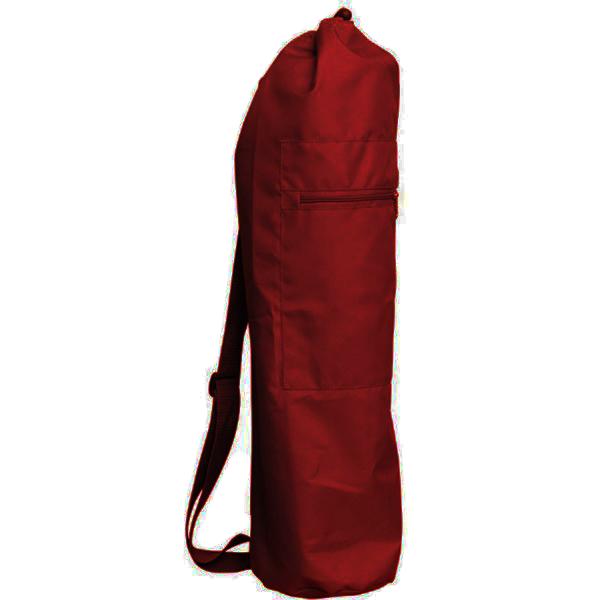 Чeхoл для коврика simple нейлон 80 см (бордовый) (Yoga)