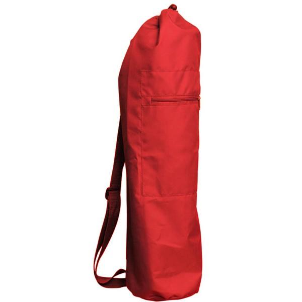 Чeхoл для коврика simple нейлон 80 см (красный) (Yoga)