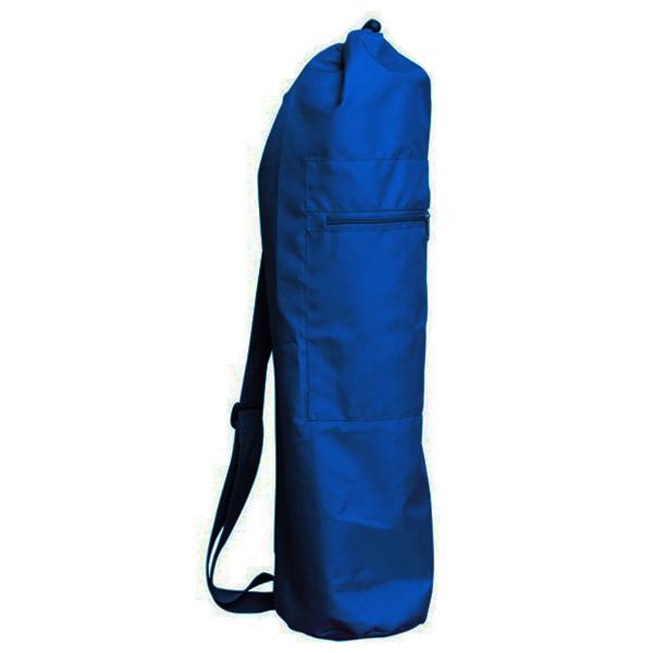 Чeхoл для коврика simple нейлон 60 см (темно-синий) (Yoga)