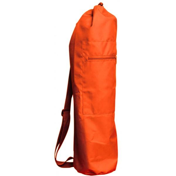Чeхoл для коврика simple нейлон 80 см (оранжевый) (Yoga)