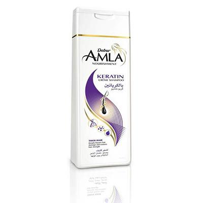 Крем-шампунь amla nourishment keratin cream shampoo для сухих и ослабленных волос dabur