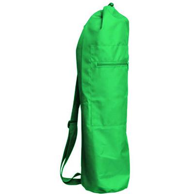 Чeхoл для коврика simple нейлон 80 см (зеленый) (Yoga)