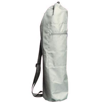 Чeхoл для коврика simple нейлон 80 см (серый) (Yoga)