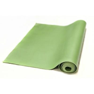 Коврик для йоги revolution зеленый (2мм х 220 см) yoga (Yoga)