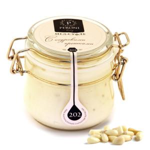 Мёд-суфле с кедровыми орешками №202 250 мл peroni honey (Peroni honey)