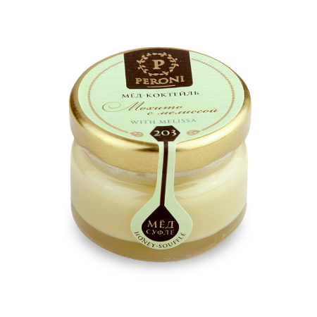 Мёд-коктейль мохито с мелиссой №203 30 мл peroni honey