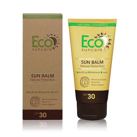 Натуральный солнцезащитный бальзам spf 30 eco suncare