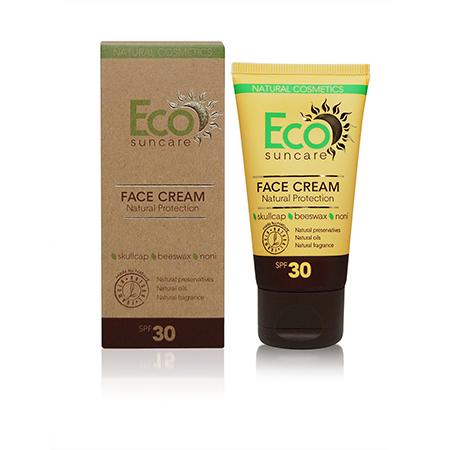 Натуральный солнцезащитный крем для лица spf 30 eco suncare (Eco Suncare)