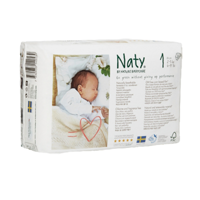 Подгузники размер 1 (2-5 кг) naty (Naty)