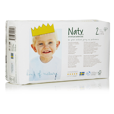 Подгузники размер 2 (3-6 кг) naty (Naty)
