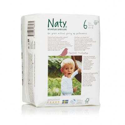 Подгузники размер 6 (16+ кг) naty (Naty)