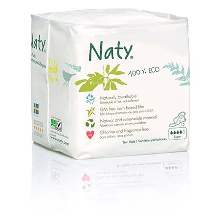 Прокладки super 13 шт naty (Naty)