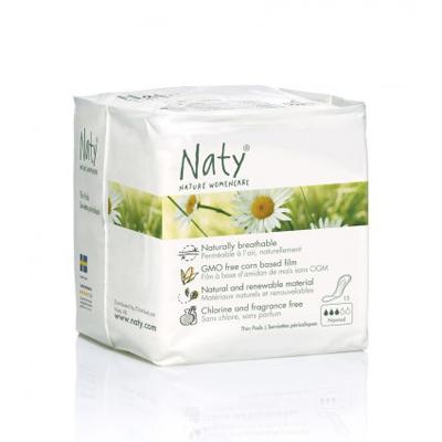 Прокладки normal 15 шт  naty (Naty)