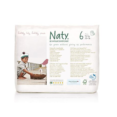 Подгузники-трусики размер 6 (16+ кг) naty (Naty)