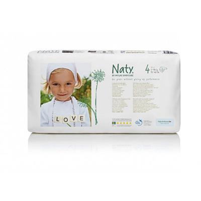 Подгузники размер 4 (7-18 кг) 46 шт naty (Naty)