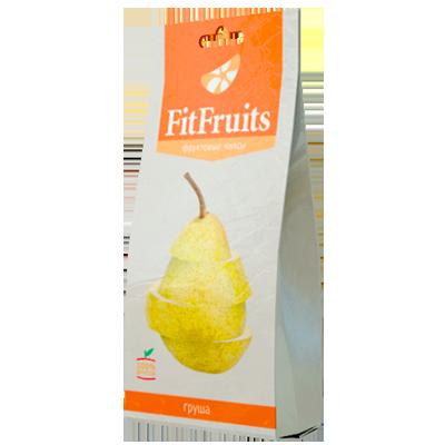 Фруктовые чипсы груша fitfruits