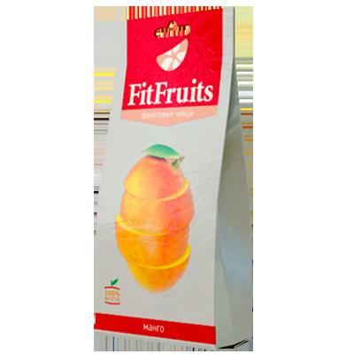 Фруктовые чипсы манго fitfruits