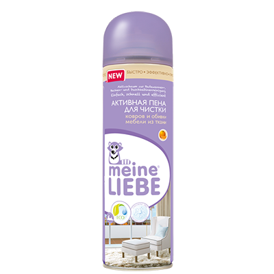 Активная пена для чистки ковров и обивки мебели meine liebe (Meine Liebe)