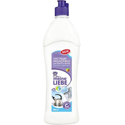 Универсальное чистящее молочко для кухни и ванны с фруктовым ароматом fruity mix meine liebe