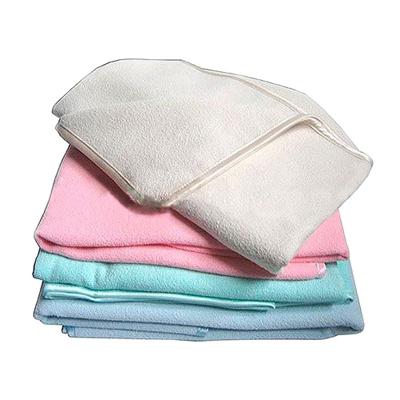 Полотенце банное 45х100 см розовое белый кот