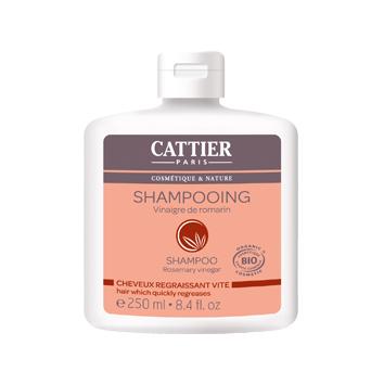 Шампунь для жирных волос с экстрактом розмарина cattier (Cattier)