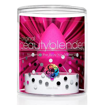 Набор спонж розовый + твердое мыло beautyblender (Beautyblender)