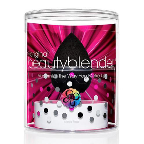 Набор спонж черный + твердое мыло beautyblender (Beautyblender)