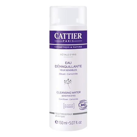 Лосьон очищающий лепесток ириса для чувствительной кожи вокруг глаз cattier (Cattier)
