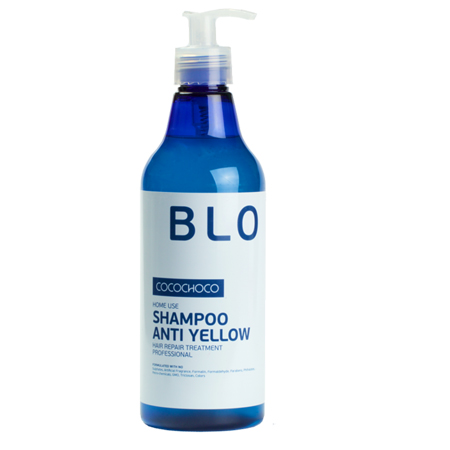 Шампунь для осветленных волос 500 мл blonde cocochoco