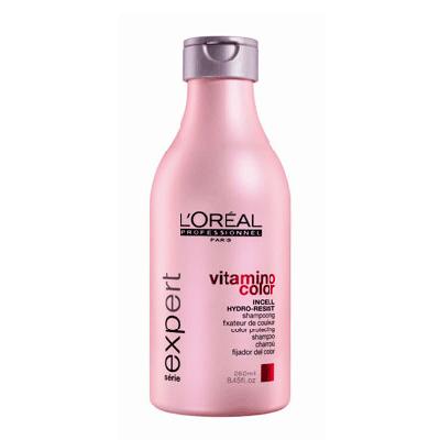 Шампунь для ухода за окрашенными волосами vitamino color 250 мл loreal (LOreal Professional)