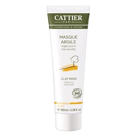 Маска для сухой кожи на основе желтой глины cattier (Cattier)