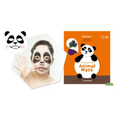 Тканевая маска animal с экстрактом ежевики панда berrisom (Berrisom)