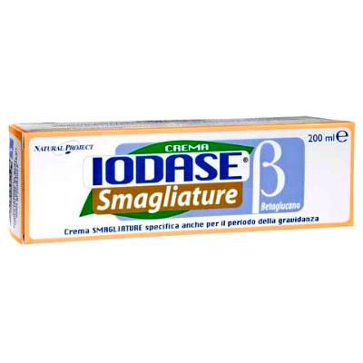 Крем против растяжек с бетаглюканом (для женщин) iodase smagliature betaglucano (Natural Project - Iodase)