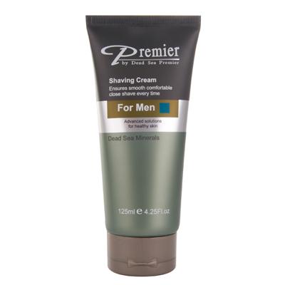 Непенящийся крем-гель для бритья для мужчин premier (Premier by Dead Sea)