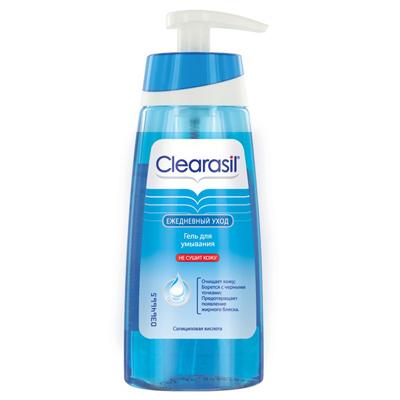 Гель для умывания ежедневный уход clearasil (Clearasil)