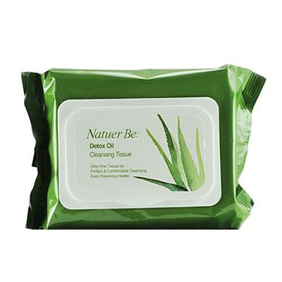 Влажные салфетки на основе натуральных растительных компонентов natural be enprani (Enprani)