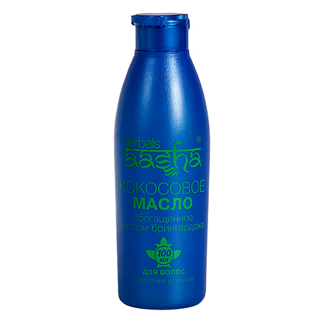 Масло для волос кокосовое с брингараджем aasha herbals (ААША)