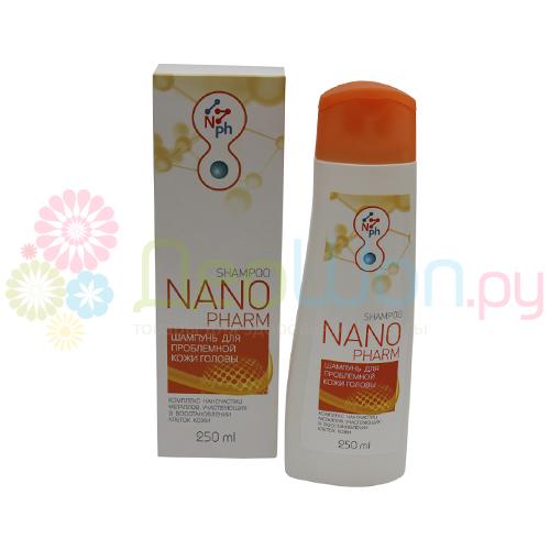 Шампунь с нано частицами для проблемной кожи (НАНОФАРМ)
