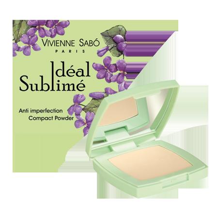 Пудра компактная против изъянов кожи ideal sublime (тон a2) vivienne sabo (Vivienne Sabo)