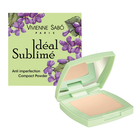 Пудра компактная против изъянов кожи ideal sublime (тон a3) vivienne sabo (Vivienne Sabo)