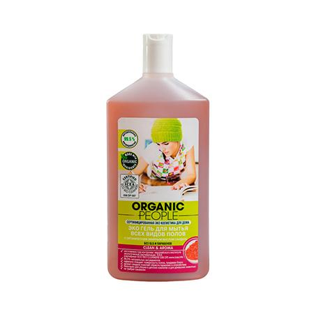 Эко гель для мытья всех видов полов cleanaroma organic people (Organic People)