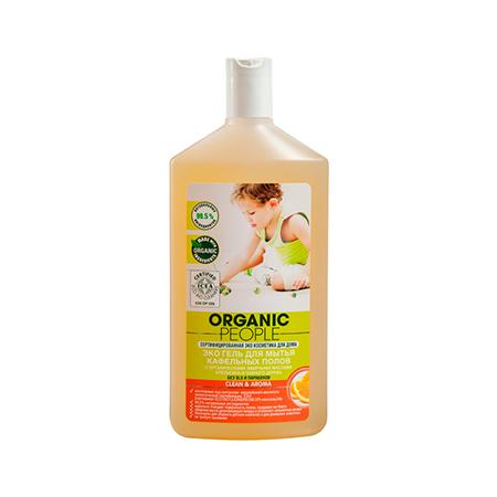 Эко гель для мытья кафельных полов cleanaroma organic people