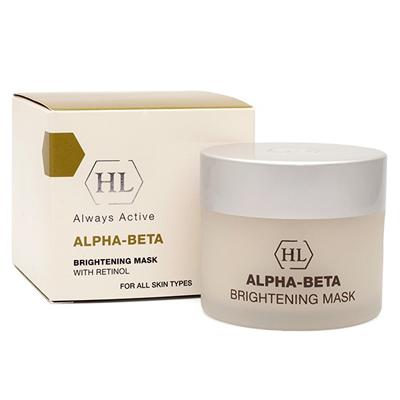 Осветляющая маска тройного действия alpha-beta holy land